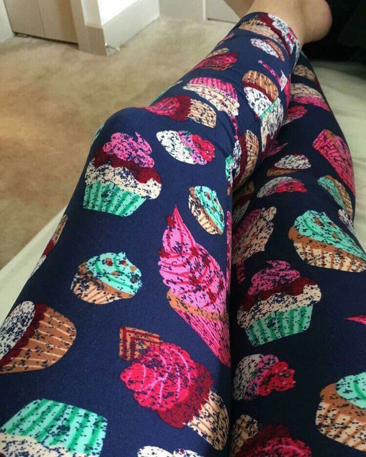 I just want everyone to k ow that I own these and they are amazing. Lularoe unicorn leggings : cupcakes