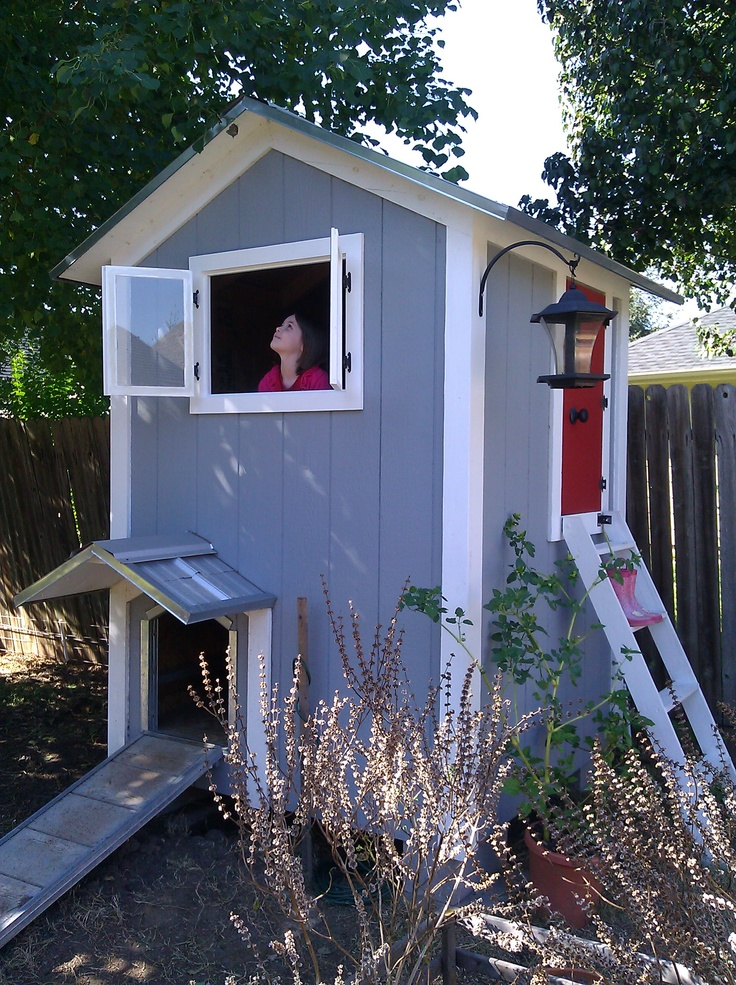 2 Story Heated Doghouse Playhouse With Windows Lights