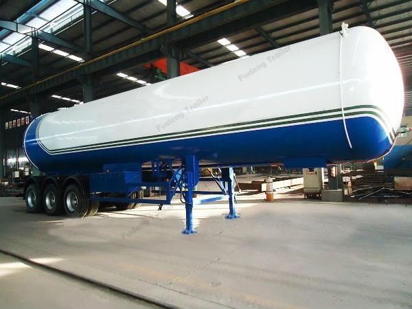 30000 a 60000 litros Semirremolque del tanque del Gpg a la venta - LPG / LNG / CNG el tanque remolque - China Shandong Fudeng Automobile Co., Ltd.