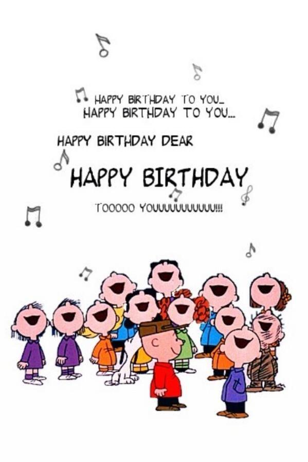 歌う誕生日画像