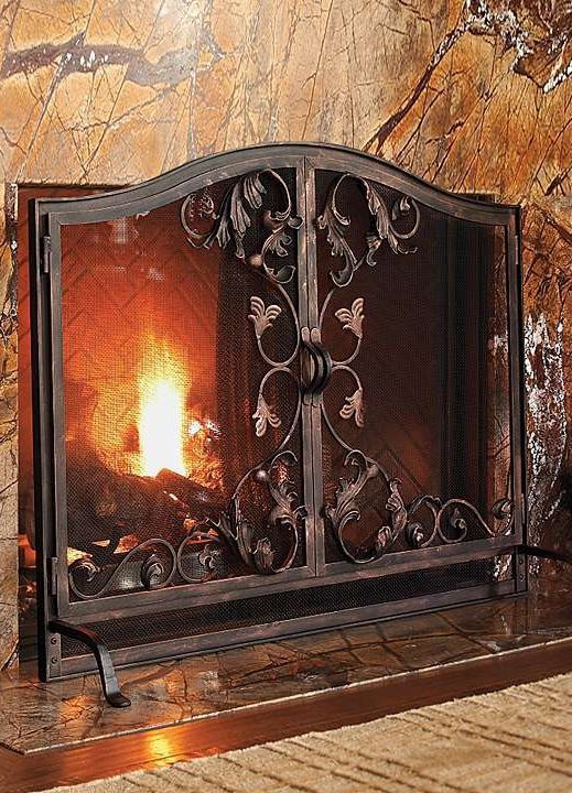 109 best Fireplace Screens images on Pinterest | Fireplace screens ...