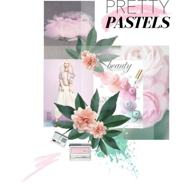 """Pastels"" by essenceve on Polyvore"