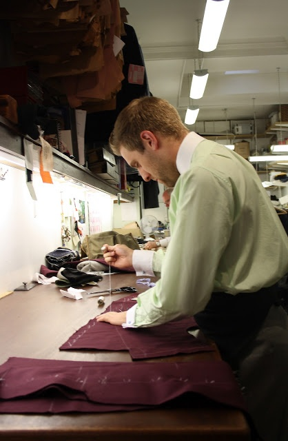 Nicholas Hammond - Tailor at Norton & Sons
