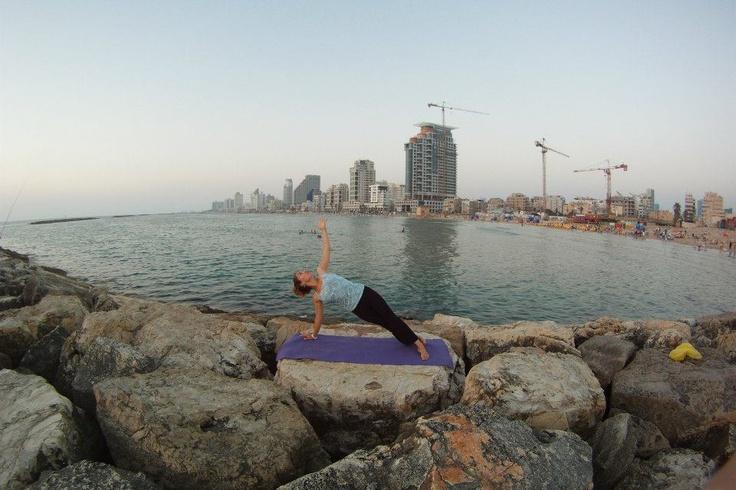 Me in Tel Aviv harbour