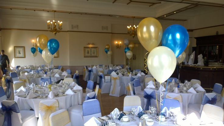 Those balloons were delivered to the Holiday Inn Victoria last Saturday, Sheffield.