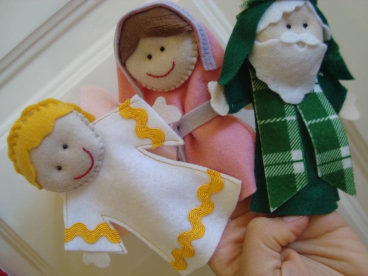 Personagens da Arca de Noé: Felt Crafts, Church, Felt Christmas, Kids Crafts, Christmas Magic, Felt Quiet Book, Christmas Busy, Finger Puppets