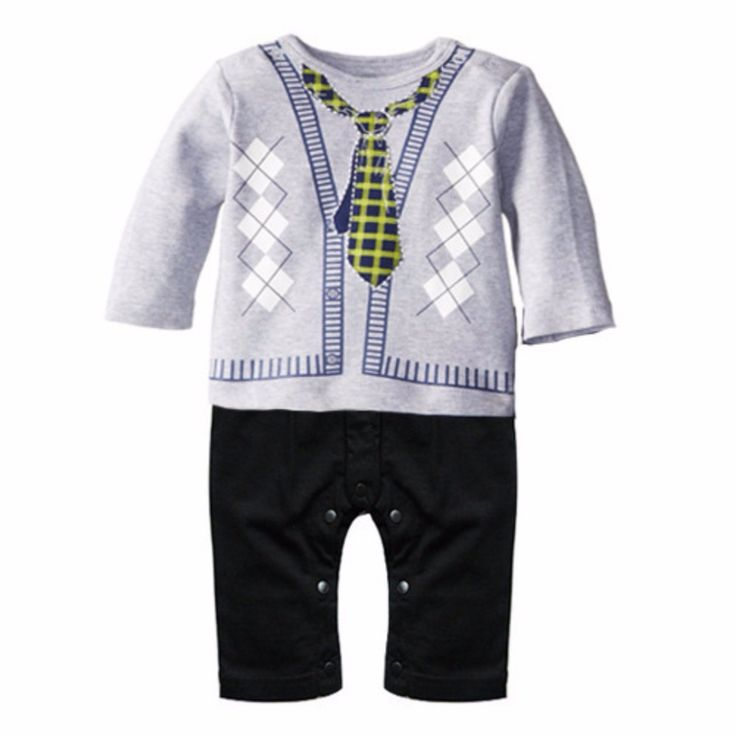 Baby Boy Girl Infant Summer Cute Cartton Romper Jumpsuit Bodysuit Clothes Outfit