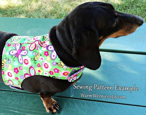 Sewing Pattern Small Dog Harness With Leash Instructions Image 9