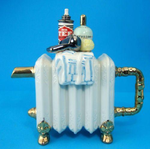 Swineside-Teapottery-Bathroom-Radiator-Novelty-Teapot-Tea-Pot-Made-in-England