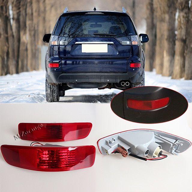 Rear Right Left Tail Fog Light Bumper Lamp Reflector 8352a005 8337a015 For Mitsubishi Outlander Ex 2007 2008 2009 20 Car Brands Car Lights Mitsubishi Outlander