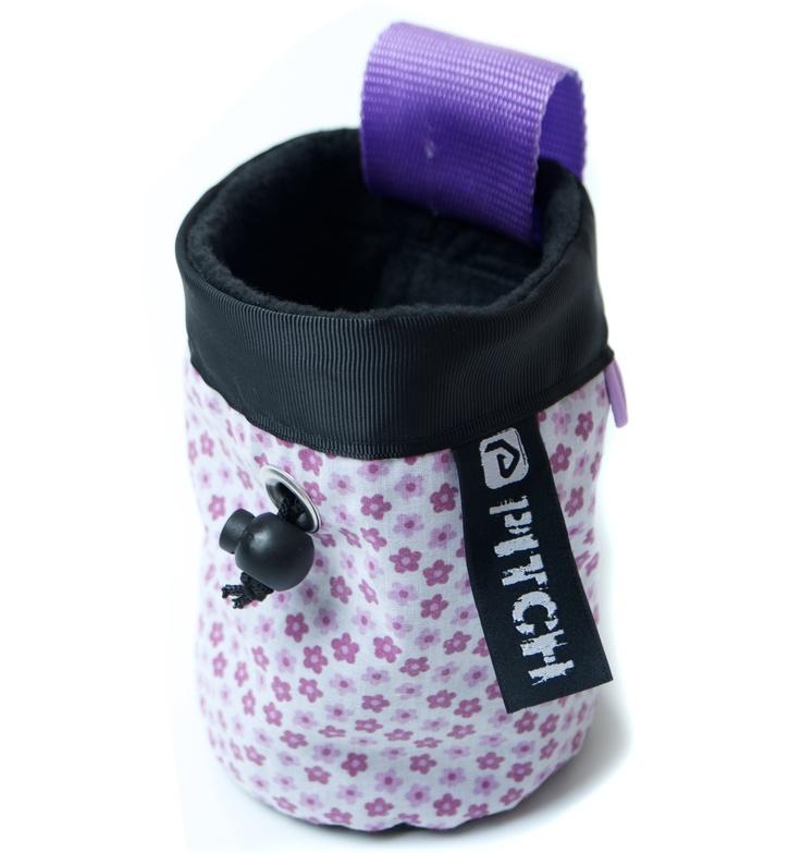 Pansy chalk bag (pitchclimbing.com)