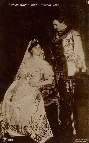 Emperor Karl and Empress Zita, Official coronation portrait, December 1916