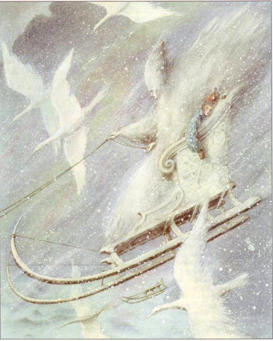 Angela Barrett  From the Snow Queen.
