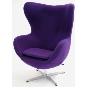 Arne jacobsen egg chair a perfect mod retro reading chair mod retro furniture - Second hand egg chair ...