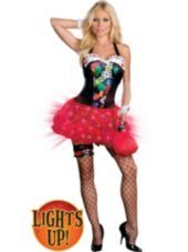 Adult Vegas Baby! Light-Up Costume-Light Up Costumes-Womens Costumes-Halloween Costumes-Party City