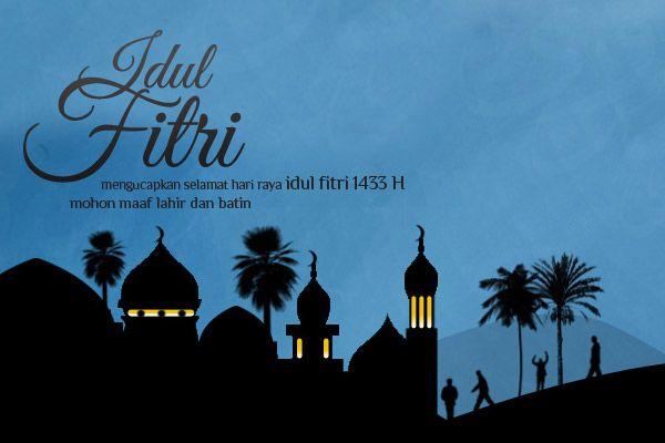 Kartu lebaran 2012. #IdulFitri #EidMubarak #design
