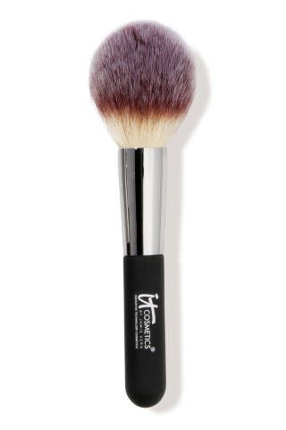 It! Cosmetics, the Powder Brush. We've yet to experience another brush.  ($48 at ItCosmetics.com) The 12 Best Makeup Brushes for Tackling Every Beauty Need 2013