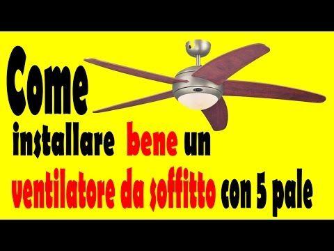 YouTubeSardegna: Una ventata di fresco con i ventilatori da soffitt...