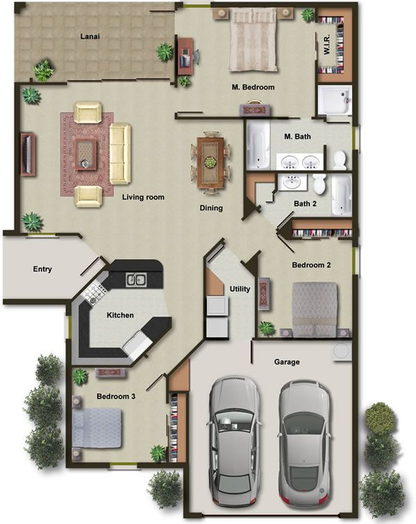 38 best Architecture Colored floor plan images on Pinterest