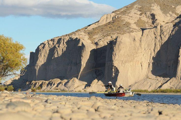 Collon Cura - Flotada Rio Chimehuin