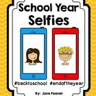 """End of Year  or Beginning of the Year bulletin board idea!  Are your students interested in taking """"selfies"""" and using hashtags?  I designed this b..."""