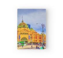 Flinders Street Station -- No Distracting Wires Hardcover Journal