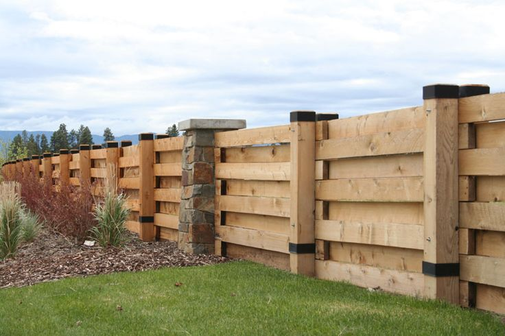 Privacy Fencing Wood Privacy Fence With Horizontal