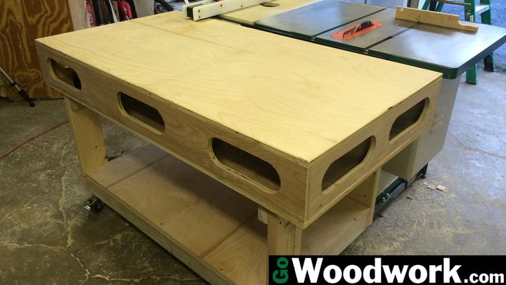 Having seen both the original Ron Paulk torsion box workbench and Jay Bates create his own version, I decided that this would be the perfect project to go with my new-to-me Grizzly table saw. This …