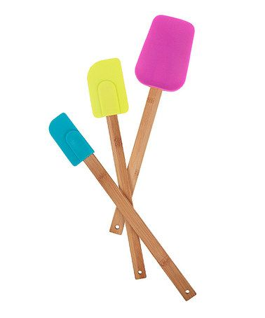 Take a look at this Madrid Spatula Set by Core Bamboo on #zulily today!