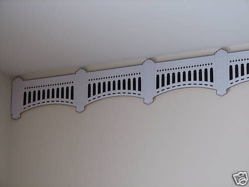 new york yankee stadium facade frieze wallpaper border