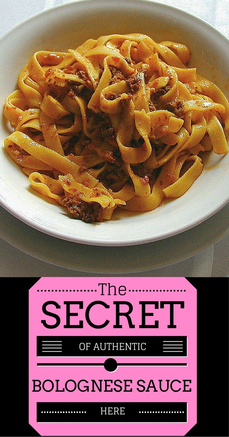 Authentic Bolognese Sauce Recipe - Discover how easy it is to make this simple, but delicious classic sauce. The true bolognese sauce is delicious and pretty easy to make. I have step by step instructions that I learned in Bologna as a student.