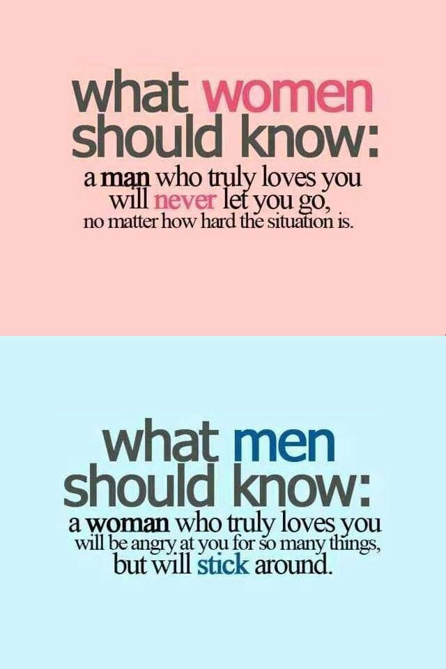 What Men Should Know What Women Should Know Quotes Phrases
