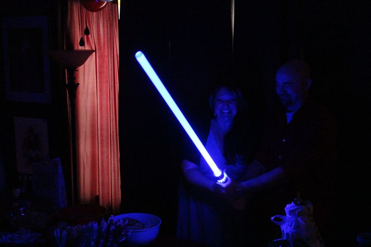Our Lightsaber Gender Reveal