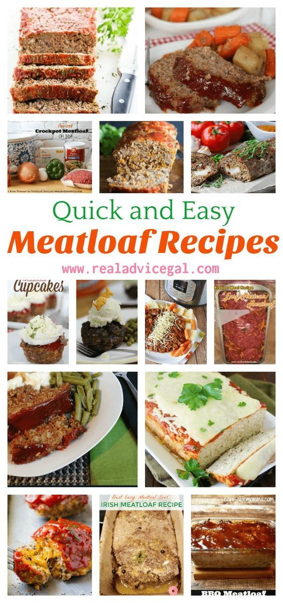 Is meatloaf your comfort food? Try these quick meatloaf recipes that are easy to make and so tasty. It's perfect for making special meal for your family or for holiday dinners.