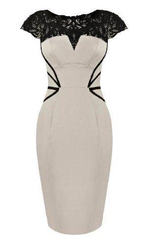 Karen Millen Lace Embroidery Dress : Dresses