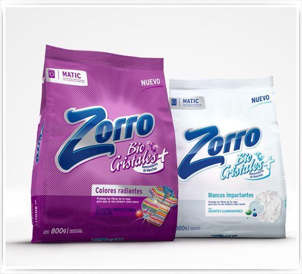 3D Soap powder bag  & Packaging Design by Sergio Fernández , via Behance