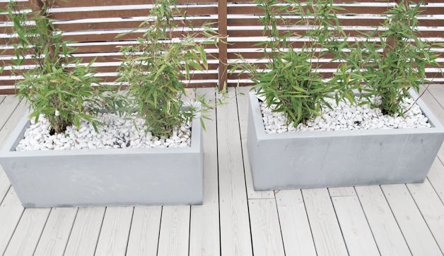 Her finnes også en link til hvordan lage betongkrukker selv