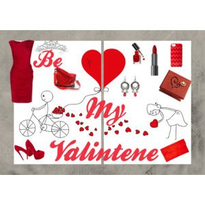 """""""Be My Valentine!"""" by annawirejewelry on Polyvore"""