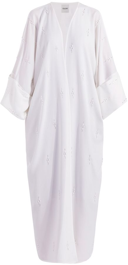 Embellished Long Abaya