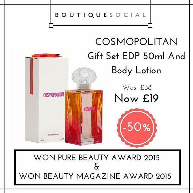 #ChristmasIsComing Get 50% off the @cosmopolitan gift set, perfect timing for Christmas