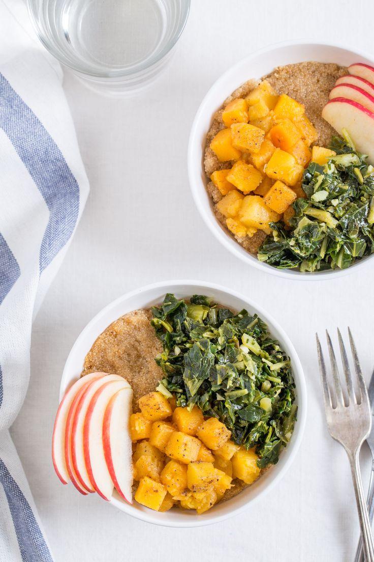Recipe: Vegan Amaranth Bowl with Garam Masala Butternut Squash — Freezer-Friendly Grain Bowls from Sarah Crowder