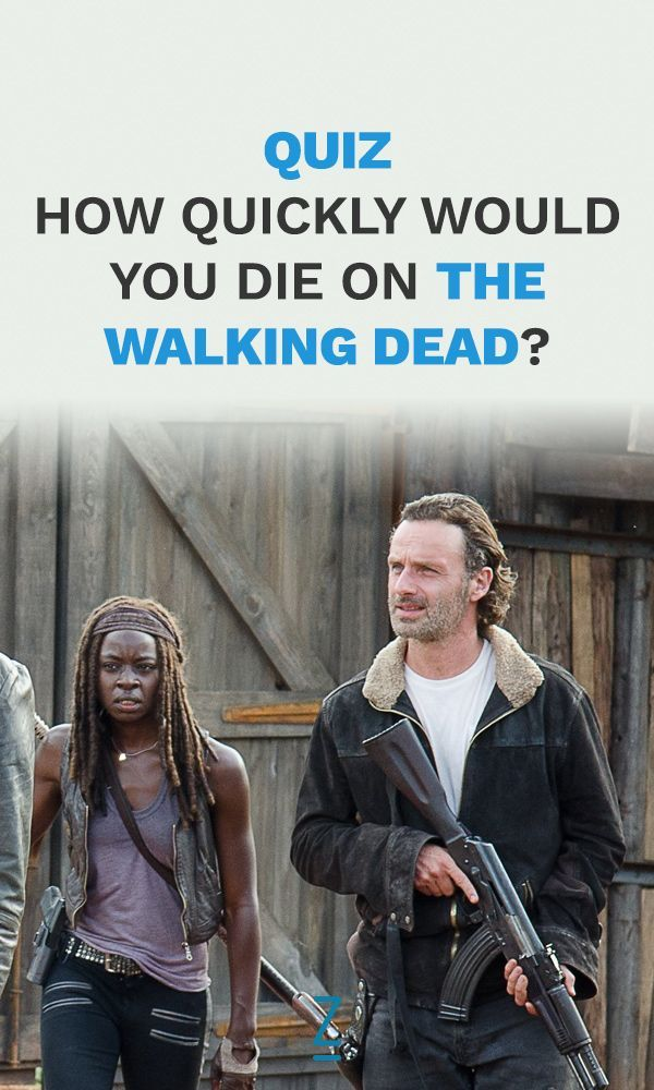 The Walking Dead Cast Match Quiz