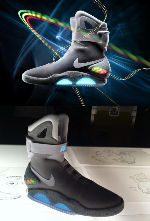 I would probably give up my first unborn child for these shoes. Nike Mag. Back to the Future shoe