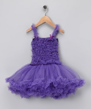 purple petti dress