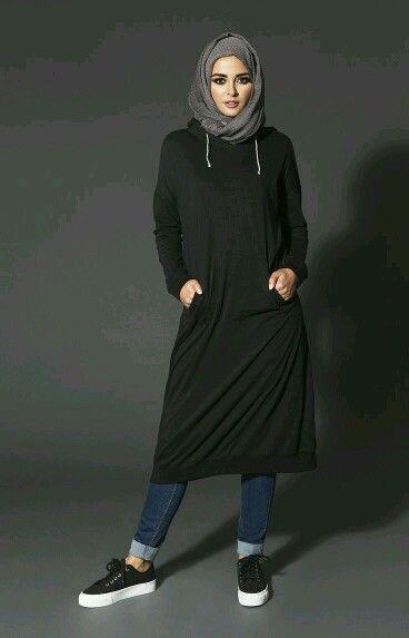 Casual hijab style