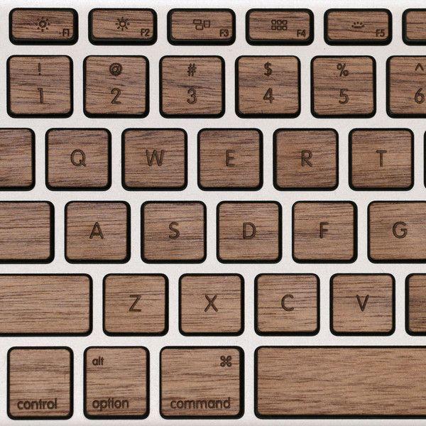 Lazerwood Keys for MacBook Pro by Lazerwood Industries