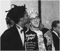 Jean Michel Basquiat and Keith Haring: Artists, Jeanmichelbasquiat, Keithharing, George Hirose, Jeans, Keith Haring, Whitney Museum, People, Jean Michel Basquiat