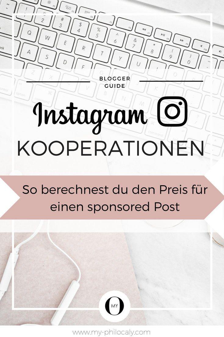 Instagram Kooperationen: So berechnest du den Preis für einen sponsored Post - Was ist ein Post auf meinem Instagram Profil wert? Wieviel kann ich für einen gesponserten Post verlangen? Wie verhandele ich mit Firmen? Und worauf kommt es dabei eigentlich an? Mit diesen Fragen beschäftige ich mich heute in diesem Artikel.