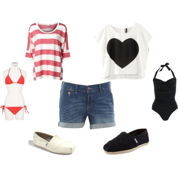 2 outfits for SUMMER!