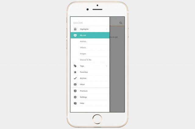 Pocket App Photo